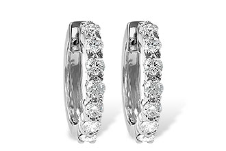 E046-85377: EARRINGS 1.00 CT TW