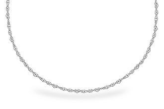 F318-70832: 1.5MM 14KT 20IN GOLD ROPE CHAIN WITH LOBSTER CLASP