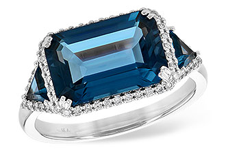 H235-93586: LDS RG 4.60 TW LONDON BLUE TOPAZ 4.82 TGW
