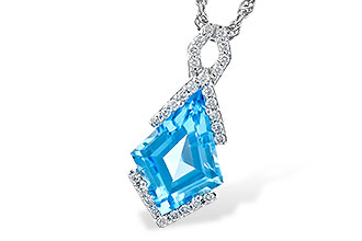 L318-66277: NECK 2.40 BLUE TOPAZ 2.53 TGW
